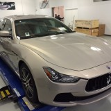 Maserati Ghibli paint protection, clear bra